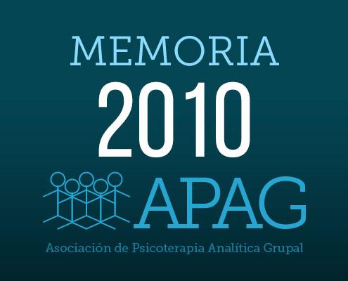 APAG memoria 2010