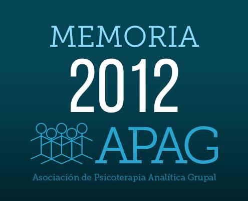 APAG memoria 2012