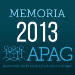 APAG memoria 2013
